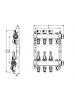 Коллектор стальной для поверхностного отопления с соед.  push-fit тип TECElogo в сборе Тип:3 контура